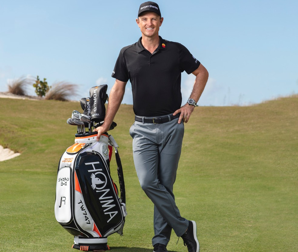 Honma Signs World #2 Justin Rose to Multi-Year Club Deal
