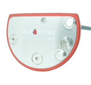 An RG 1 putter, one of the best 2020 mallet putters
