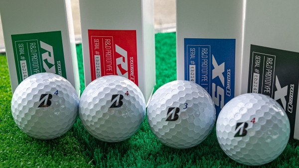 Bridgestone Tour B Golf Balls with REACTIV Cover (2020)