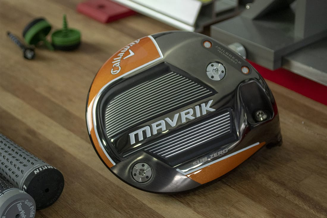An orange club, one of the best 2020 drivers golf