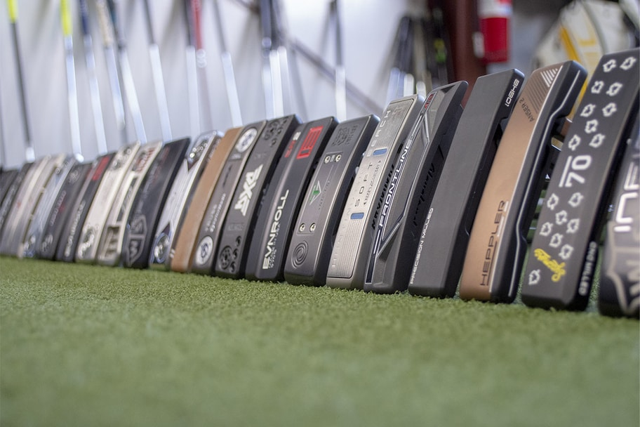 A line of the best blade putters of 2020