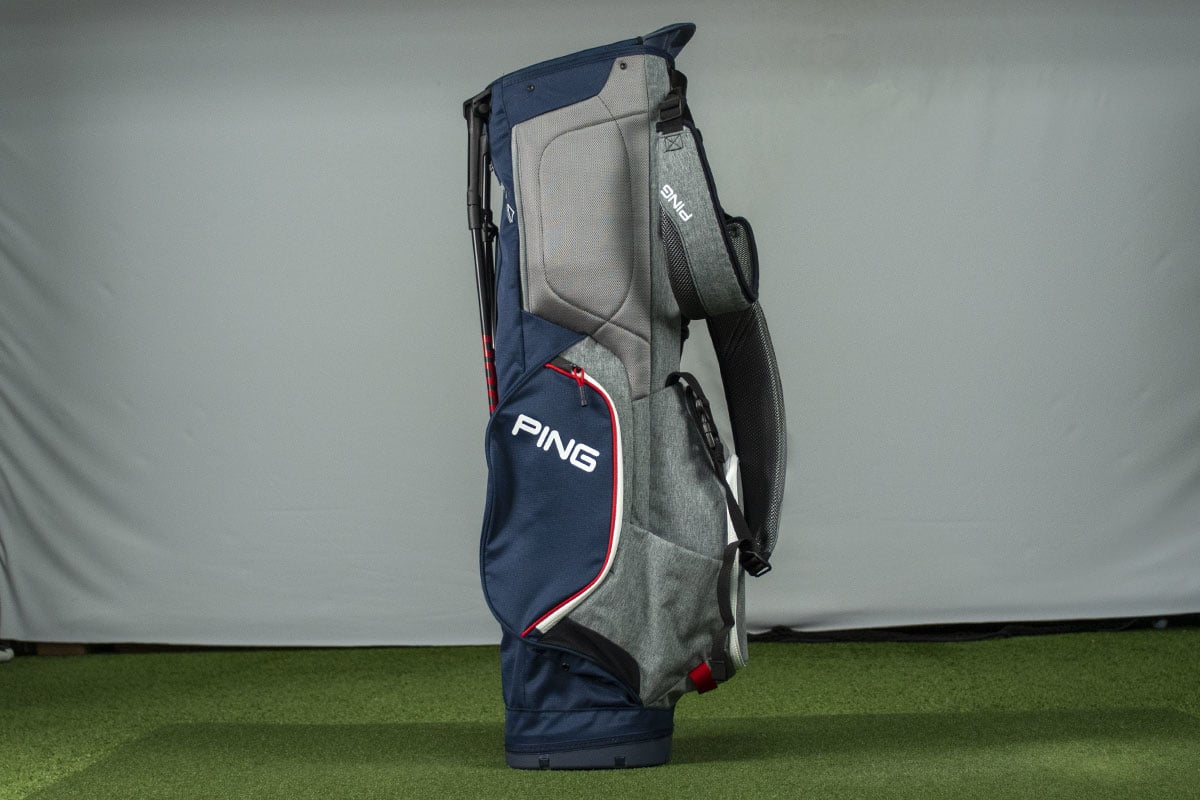 A Ping Hoofer bag that is one of the best golf stand bags of 2020