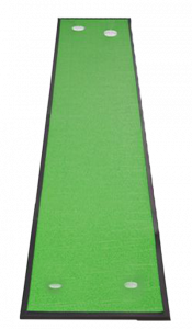 A BB2, one of the best indoor putting mats