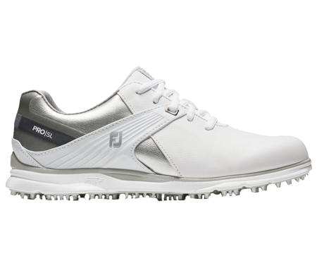 A Footjoy Pro SI  shoe, one of the best spikeless golf shoes of 2020
