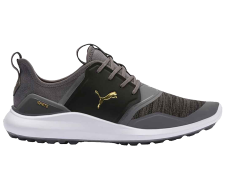 A Puma NXT Lace shoe, one of the best spikeless golf shoes of 2020