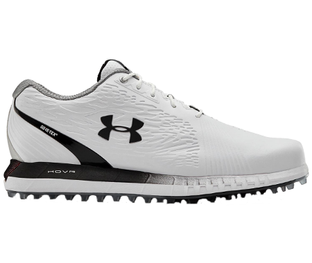 An Under Amour Hovr GTX shoe, one of the best spikeless golf shoes of 2020