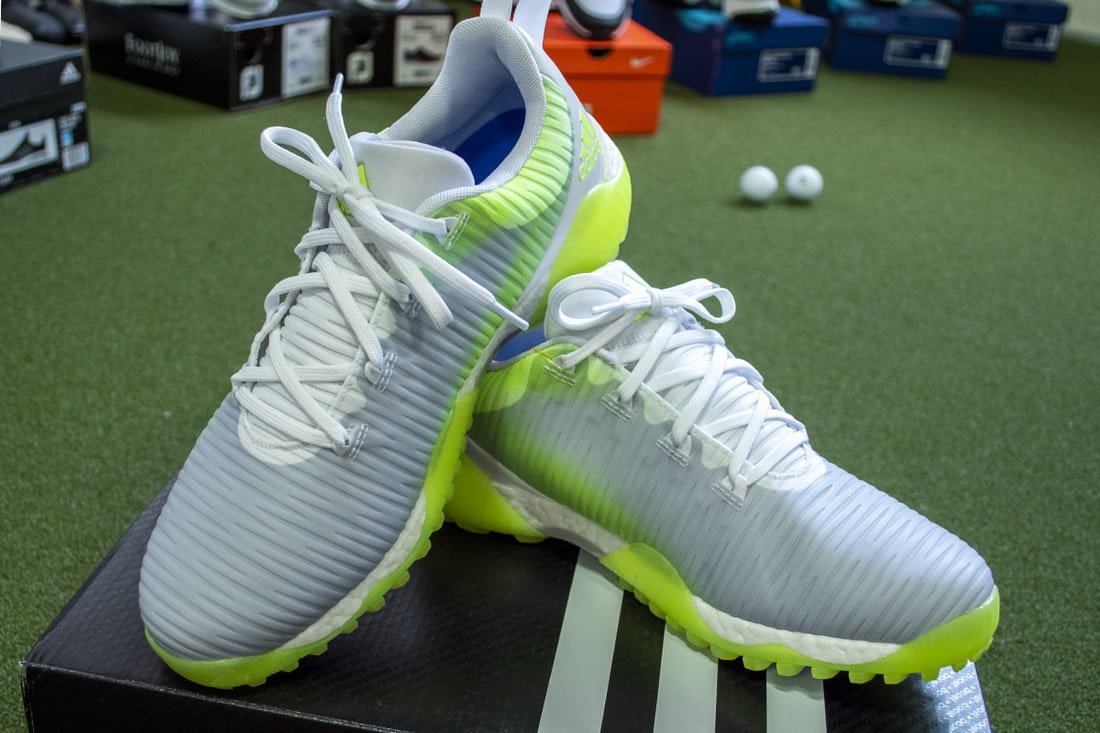 2 Codechaos shoes, some of the best spikeless golf shoes of 2020