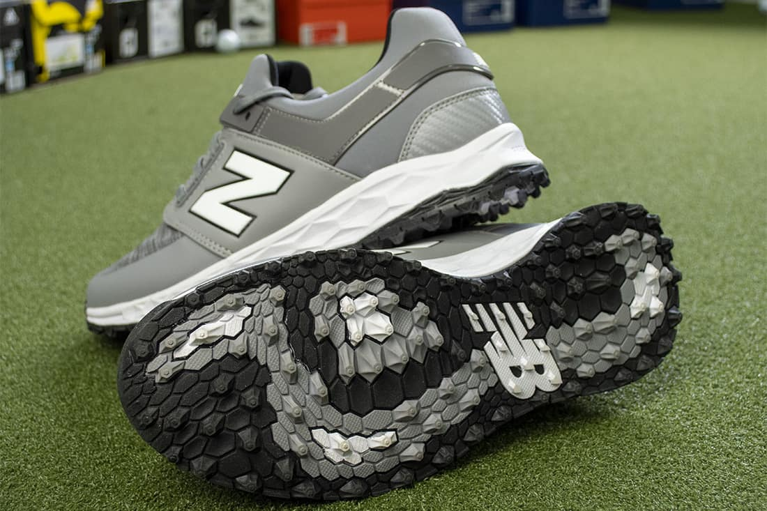 Some New Balance shoes that are some of the best spikeless golf shoes of 2020