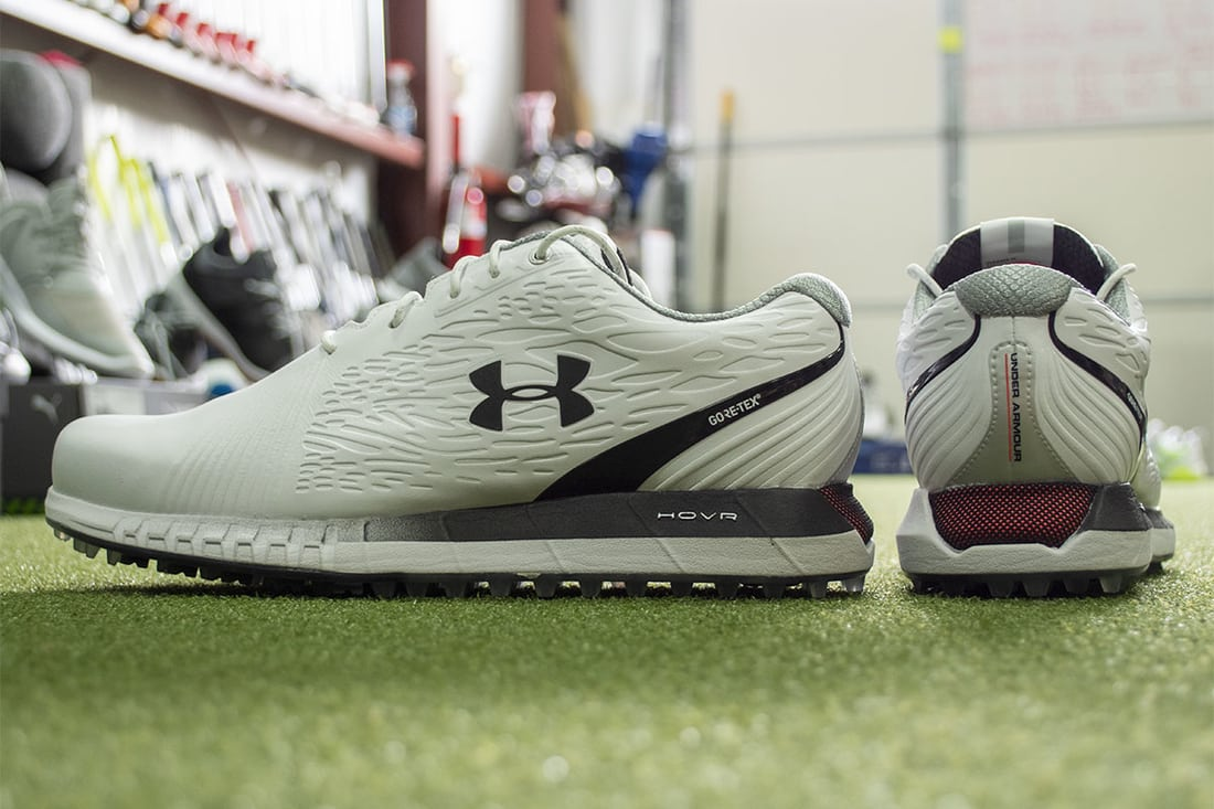 Some Under Armour shoes that are some of the best spikeless golf shoes of 2020