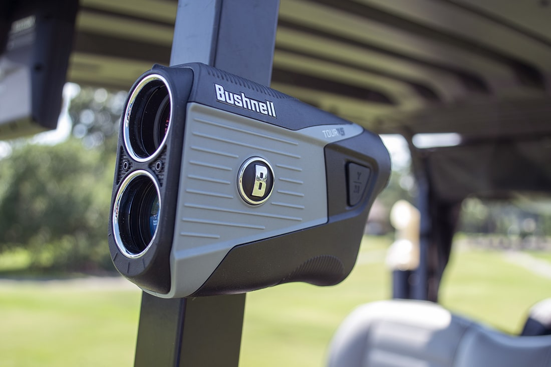 One of the best rangefinders at a golf course
