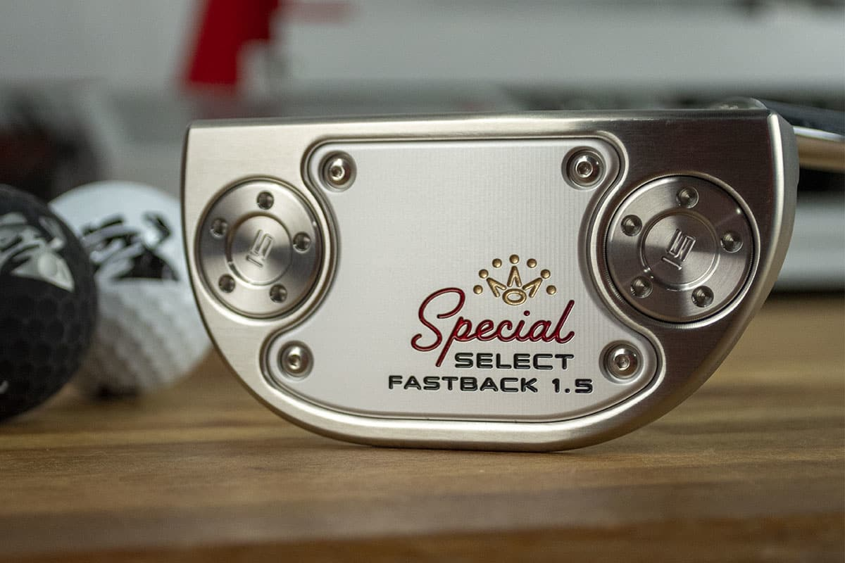 A Scotty Cameron putter, one of the best 2020 mallet putters