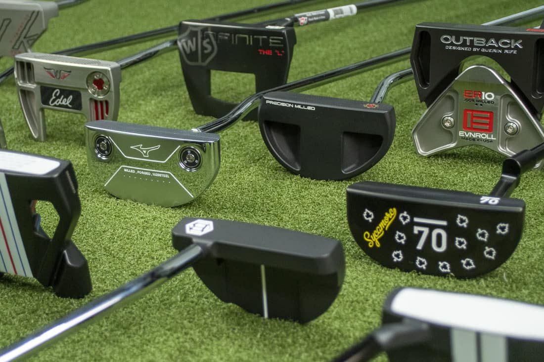 A Group of the best 2020 mallet putters