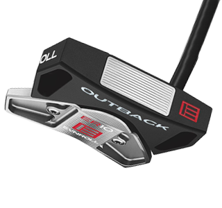 An Evnroll ER10 putter, one of the best 2020 mallet putters