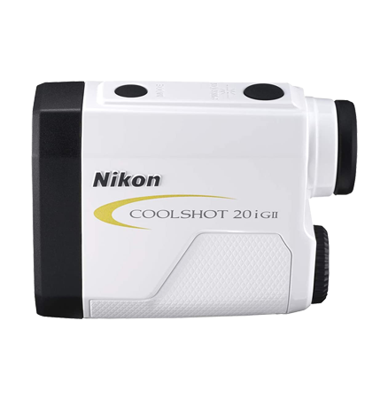 One of the best golf rangefinders, the Nikon 20i