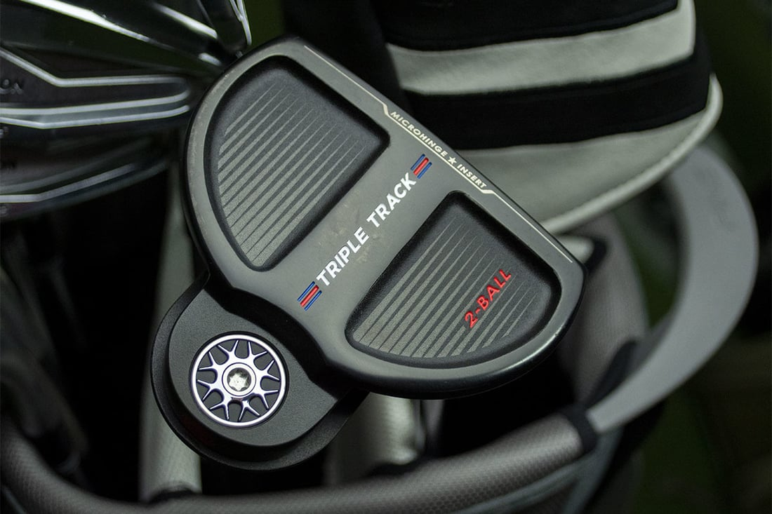 A sleek view of one of the best 2020 mallet putters