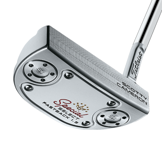 A Scotty Cameron Select 1.5 putter, one of the best 2020 mallet putters