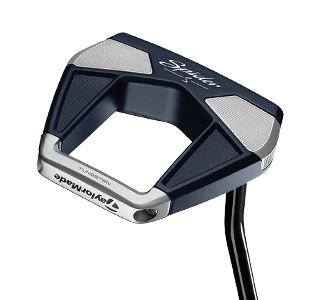 A Taylormade Spider S putter, one of the best 2020 mallet putters