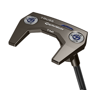 A Taylormade Truss putter, one of the best 2020 mallet putters