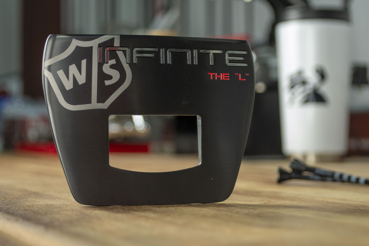 A Wilson putter, one of the best 2020 mallet putters