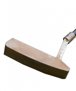 A Geom Gene putter, one of the best blade putters of 2020