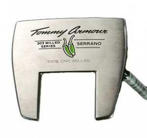 A Tommy Armour Serrano putter, one of the best 2020 mallet putters