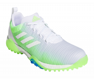 An Addidas Codechoas shoe, one of the best spikeless golf shoes of 2020
