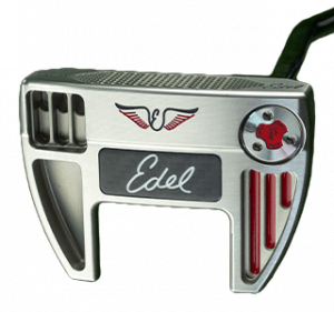 An Edel Eas4 putter, one of the best 2020 mallet putters