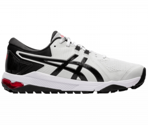 An Asics Gel Course Gel  shoe, one of the best spikeless golf shoes of 2020