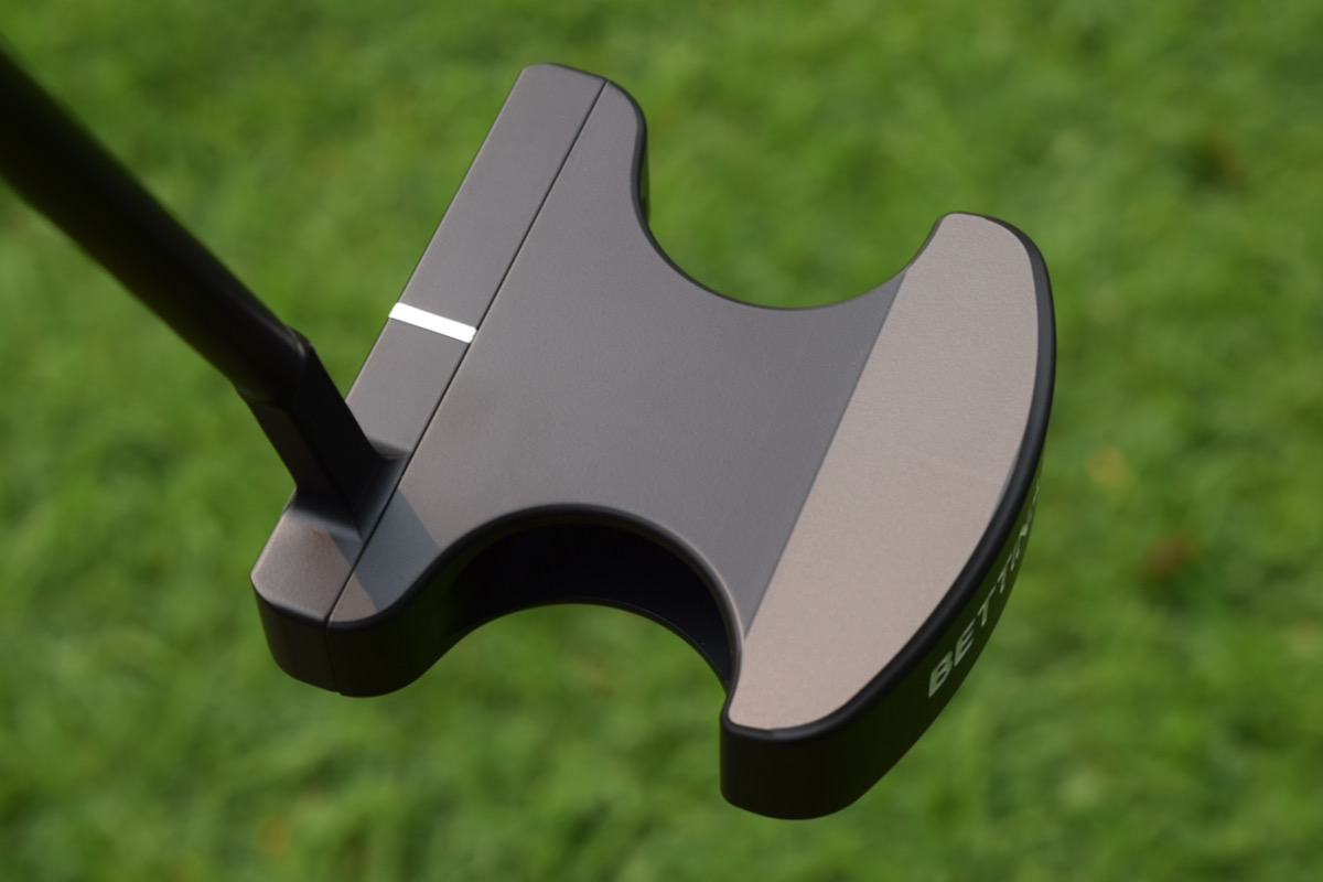 Bettinardi Hexperimental High MOI prototype putter - top view