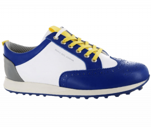 A Duca Del Cosma shoe, one of the best spikeless golf shoes of 2020
