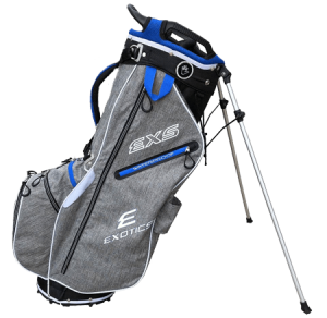 A Tour Edge EXS Extreme bag, one of the best golf stand bags of 2020