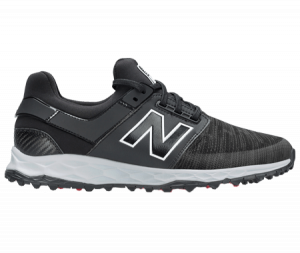 A New Balance Fresh Foam shoe, one of the best spikeless golf shoes of 2020