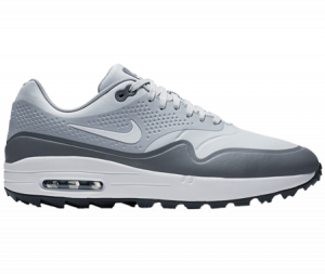 A Nike Air 1G shoe, one of the best spikeless golf shoes of 2020