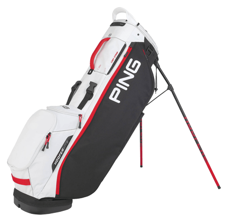 A Ping Hoofer Lite bag, one of the best golf stand bags of 2020