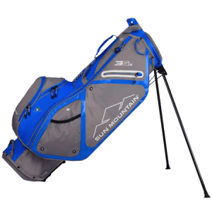 A Sun Mountain 3.5 LS bag, one of the best golf stand bags of 2020