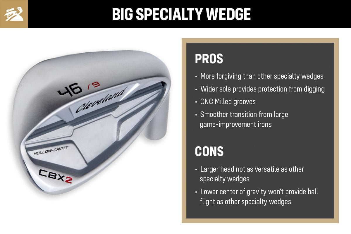 The pros and cons of big specialty pitching wedges