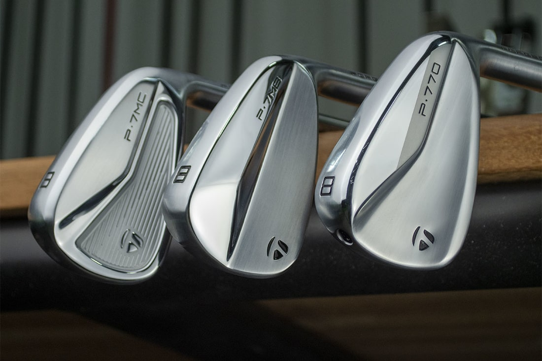 Three taylormade P770 Irons that will be Reviewed