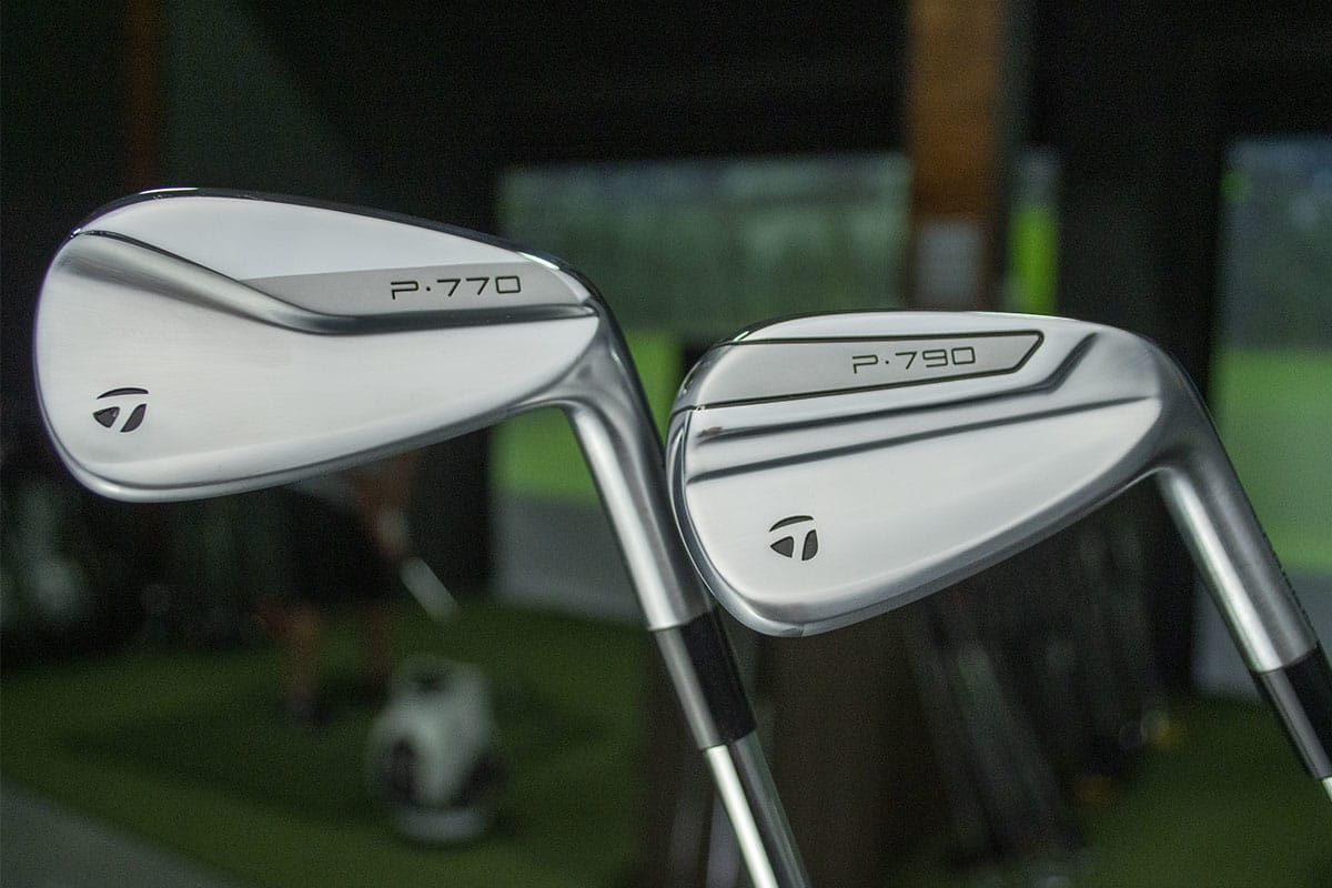 Two TaylorMade P770 Irons that will be reviewed