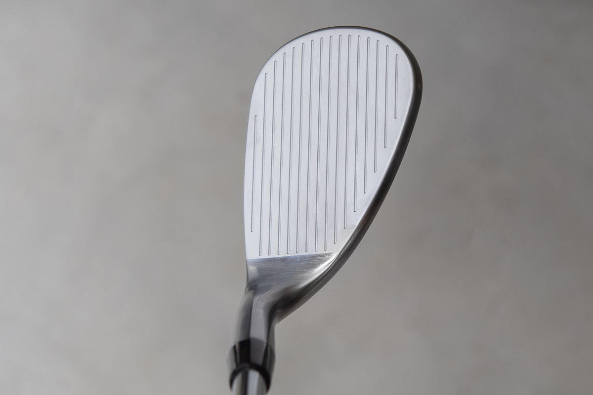 an address view of the Callaway Mack Daddy CB Wedge