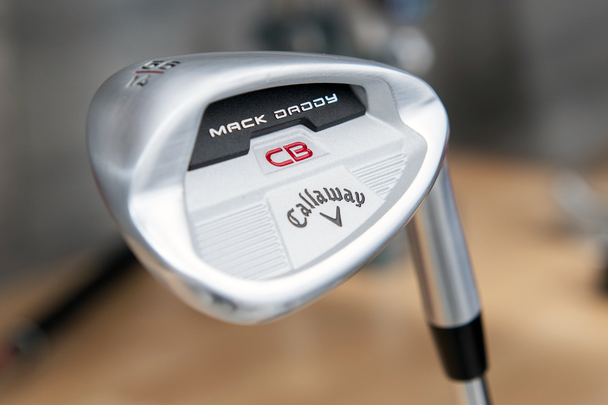 an image of the Callaway Mack Daddy CB Wedge