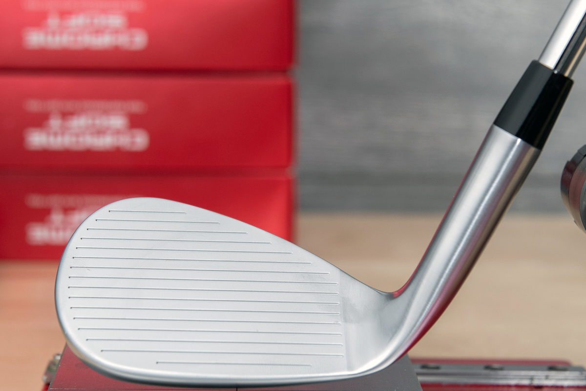 an image of the face of the Callaway Mack Daddy CB Wedge