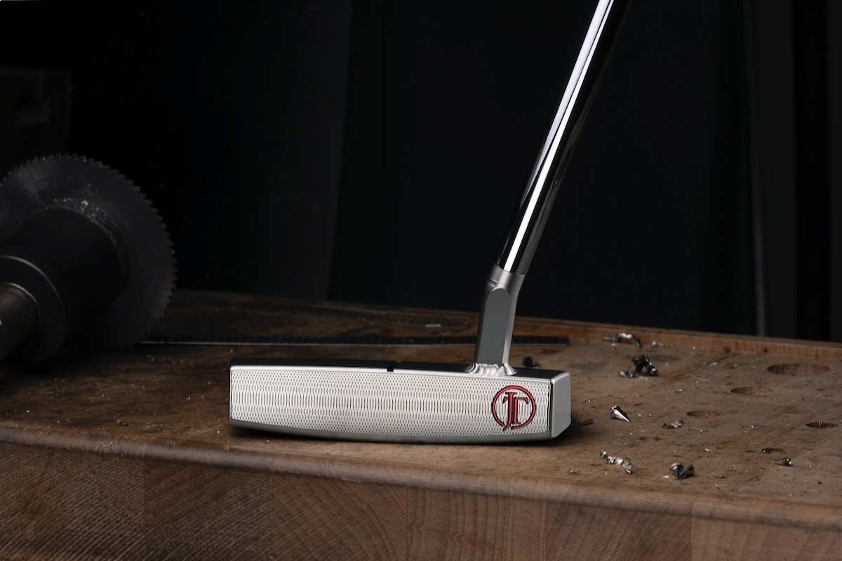 A face view of the Scotty Cameron inspired by Justin Thomas putter