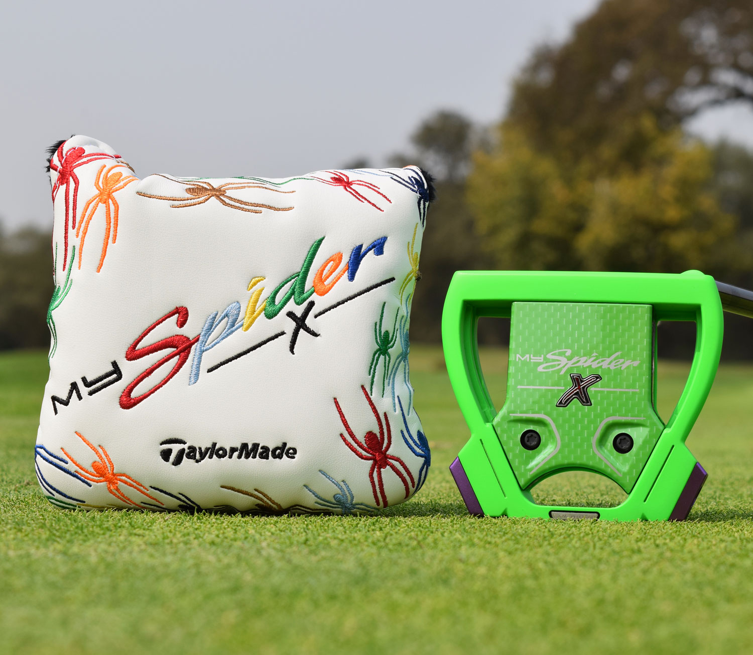 MySpider X putter and head cover