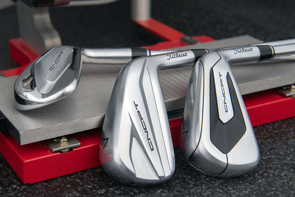 Titlesit CNCPT CP03 and CP04 Irons