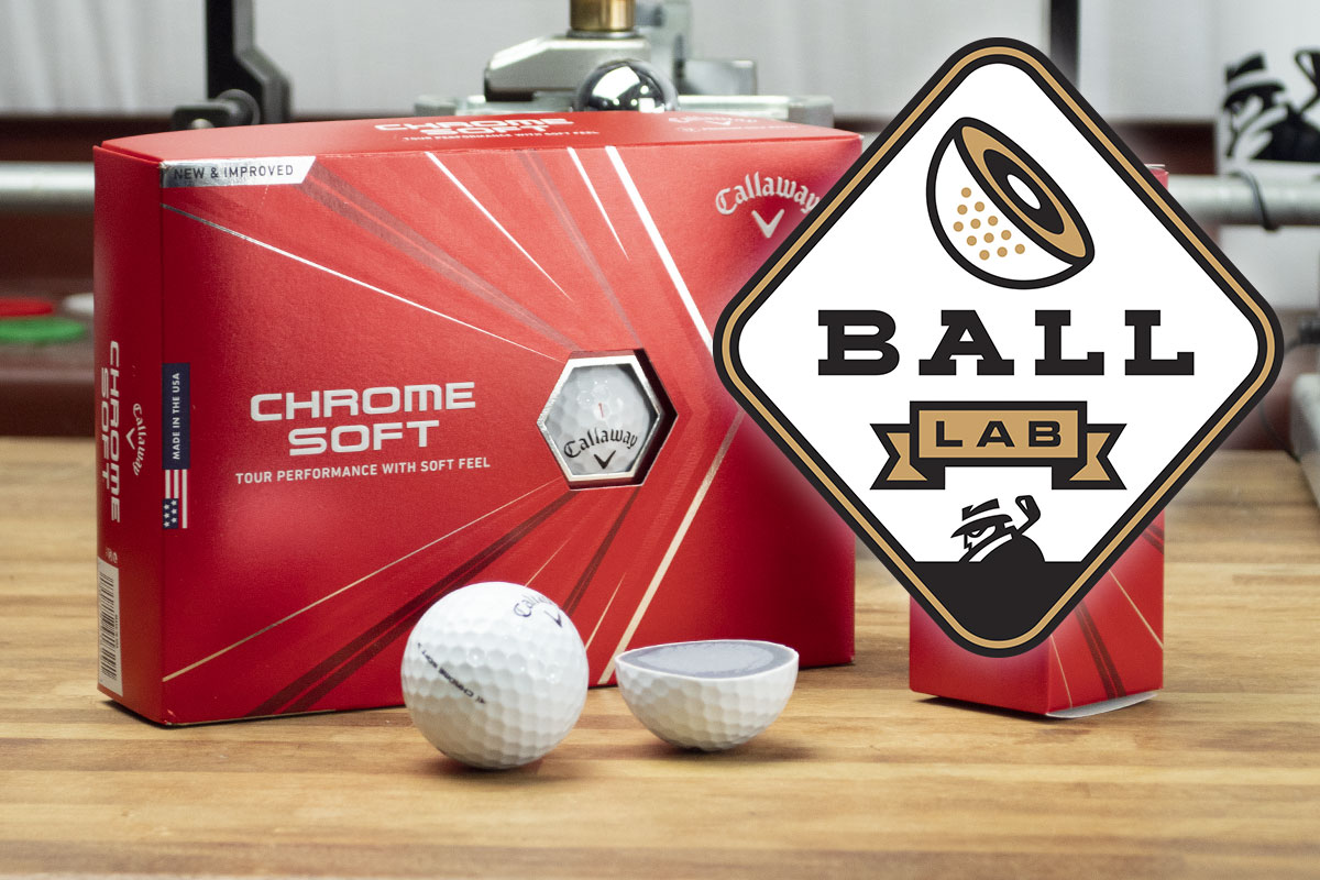 Tested for MyGolfSpy Ball Lab, the 2020 Callaway Chrome Soft