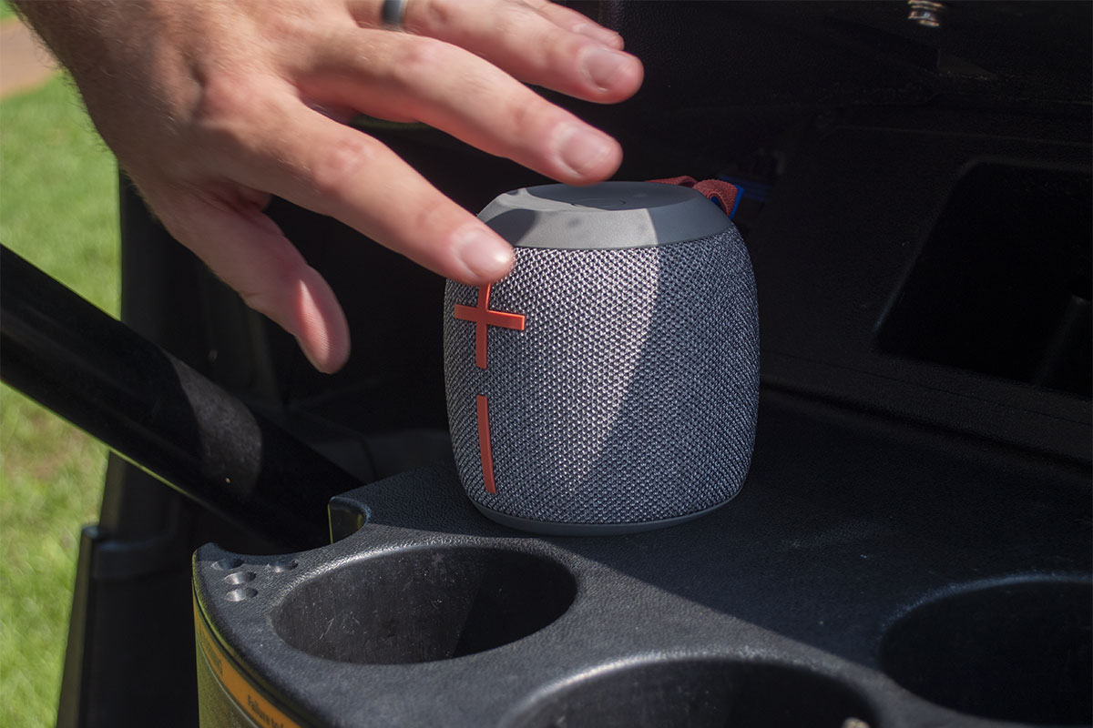A photo of the UE Wonderboom 2 Bluetooth Speaker
