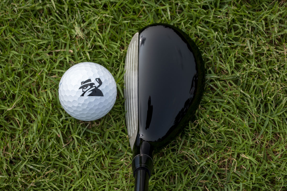 The address view of the Honma TR21 Hybrid
