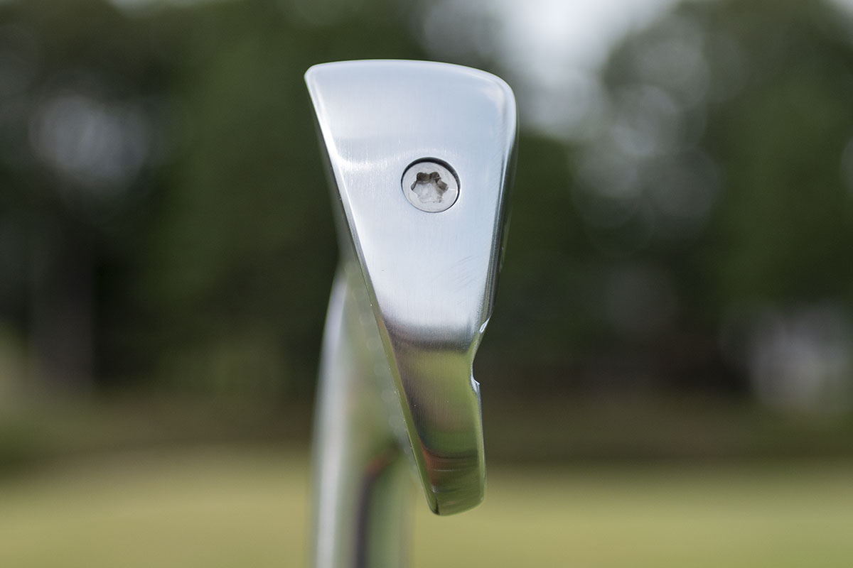 an image showing the unusual profile of the Honma TR21X Iron