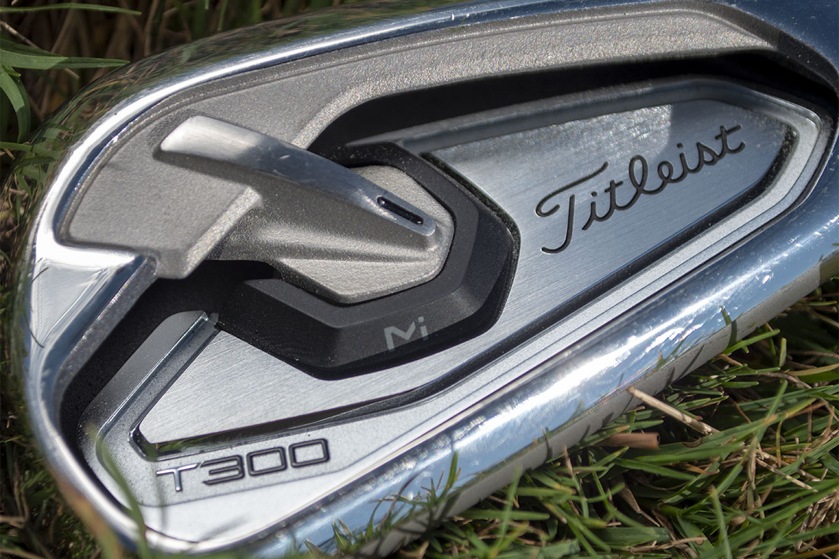 A photo of the Titleist T300 Iron