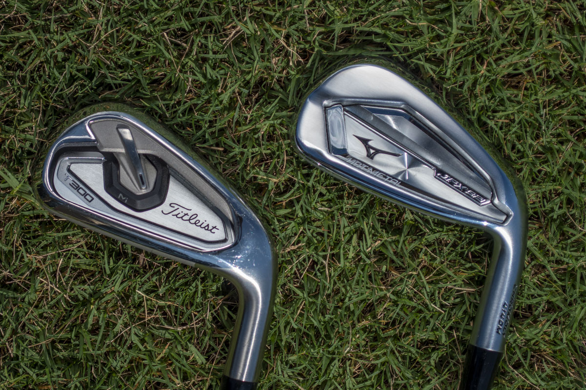 The best game improvement irons for 2020 - The Titleist T300 and Mizuno JPX921 Hot Metal